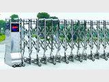 创鸿业不锈钢优质的电动伸缩门新品上市银川电动伸缩门