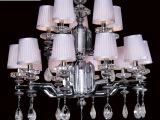 供应欧式宫廷宝石吊坠吊灯 餐厅吊灯 酒店吊灯 新款吊灯水晶灯