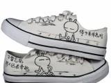 太原手绘鞋 帆布鞋彩绘 手绘鞋培训 学画手绘鞋 彩绘培训