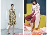杭州一线大牌艺素国际新款春装剪标库存折扣女装批发
