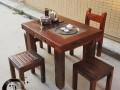 低价直销老船木家具组合功夫茶台博古架茶水柜简约阳台小茶桌