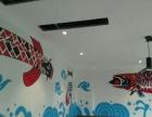 墙绘彩绘、文化墙、墙画壁画、订制画、3D画、涂鸦