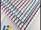 【现货供应】全棉衬衫面料 格子衬衫布料 厂家直销 色织布料
