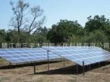 太阳能光伏安装系统 地面直埋基础