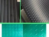 河北厂家直销橡胶板 防滑橡胶板柳叶纹 圆点防滑橡胶垫
