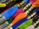 法国DMC 25号 刺绣线 绣花线 纯棉 十字绣线 青木和子图用