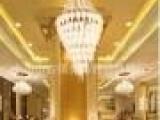 欧式简约玻璃吊灯 客厅工程灯饰灯具工程吊灯夏盟马斯登帝思同款