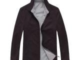 牧农(munong)男式休闲风衣中长款男装夹克型风衣外套 批发