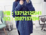 重庆哪里秋冬热销女式针织衫厂家直销外贸低价甩卖针织毛衣批发