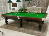 台球桌批发商 拆修及安装 星牌台球桌 实物样品展示厅