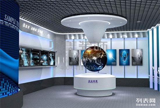 虚拟企业展厅装修设计的理念和原则