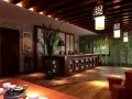 新乡茶楼装修 古典中国风设计