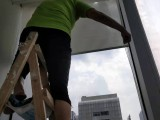 荔湾区西村洪升保洁专业清洗窗帘便宜又干净