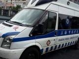 中国上海市跨省救护车