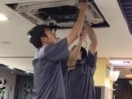 浦东潍坊路专业清洗各种家用空调及中央空调