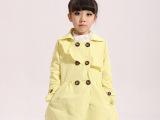 馨尚秀 品牌童装春季韩版童外套 韩版童装女童风衣批发99614