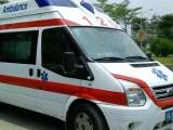 深圳医院120救护车出租专门接送危重症监护病人