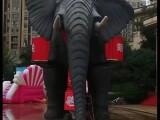 懷化暖場道具機械大象高大上變形金剛租賃