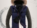 厂家批发冬装男士羽绒服修身新款韩版潮加厚短款男羽绒服男装外套
