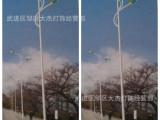 6米7米8米9米双臂路灯杆道路灯广场灯厂区灯单臂路灯自弯臂高杆灯
