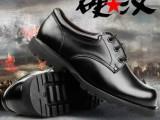 3515强人军官皮鞋真皮工装鞋男士大头鞋低帮军鞋部队保安鞋B09