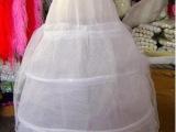 批发新娘裙撑三钢圈1层硬纱301结婚纱衬、影楼百货、新娘饰品
