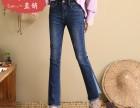 供应大量牛仔裤批发低价处理江西九江保证质量便宜松紧腰牛仔裤