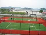 山东济南康达篮球场施工