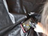供应最新产品触屏皮革 羊皮手套革 导电牛皮 智能手机触屏革材料