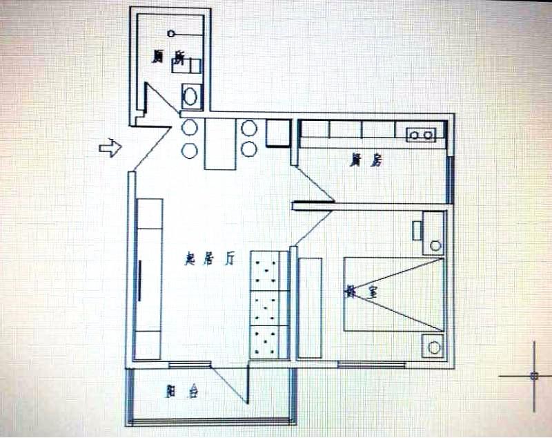 挂甲寺 科艺里 1室 1厅 43平米 出售