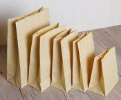 8号方底牛皮纸袋加厚款70g 现货供应 专业定做