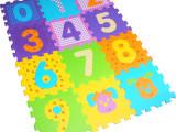 豆奇系列 经典数字印花拼图泡沫垫 3C检测环保儿童地垫 厂家批发