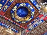 古建佛堂吊顶寺庙天花板中式装修材料