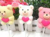 厂家直销金稻谷16G卡通小熊造型棉花糖,棉花糖批发,零食