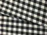 TC弹力色织面料 格子布 45S 衬衫面料 厂家直销 订货生产