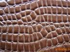 【10年诚信通企业】供应PVC高光鳄鱼人造革,皮革合成革仿皮革
