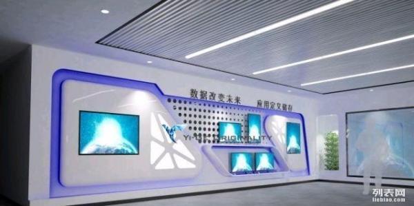 公司前台,产品展示墙,商场柜台3d效果图设计