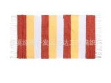 【厂家直销】各种规格 各种花型手工编织地毯地垫 门垫 脚垫