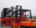 提供金山区叉车汽车吊出租-专业机器搬运吊装-平板车运输