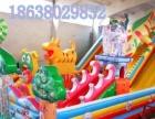 天蕊游乐 充气玩具儿童游乐设备充气城堡充气滑梯恐龙大滑梯