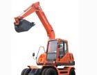 转让新源挖掘机 轮式挖掘机 履带式挖掘机胶轮购机