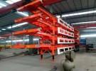 咸宁40英尺  48英尺集装箱骨架半挂车专卖货车厂家1年5万公里面议