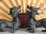 青铜器貔貅 仿古做旧 工艺品摆件 礼器 风水摆件 定制