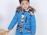 童棉衣中长款儿童棉袄冬季童装棉服手塞棉中大童外套