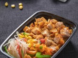 西安美食摄影丨酷鸡肉饭 丨拍摄时间2021年4月11日