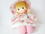 批发供应可爱小挂布坐娃 洋娃娃 布娃娃 坐姿 女孩玩具