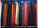 柯桥商圈2015PU水洗皮  人造革 pu针织面料 厂家优质供应
