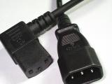 电源线厂家批发 C14-C13 品字公母对插电源线