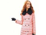 2014欧莎丽格冬装 广州盛爱品牌折扣女装批发 羽绒服,一手货源