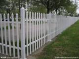 2020年塑钢围墙栏杆PVC栅栏